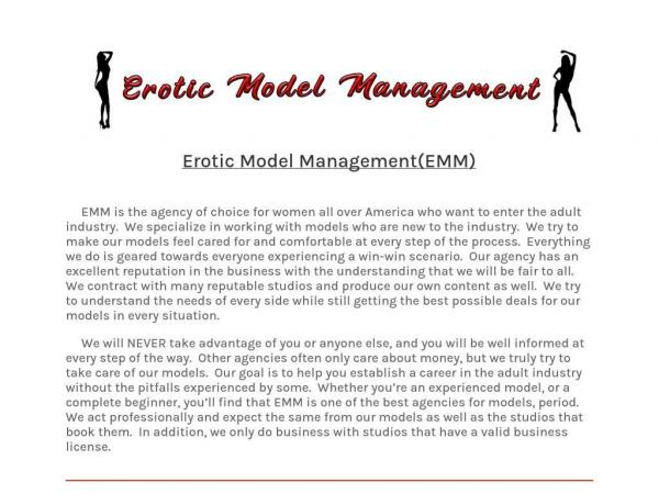 eroticmodelmgmt.com