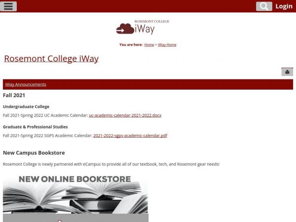 iway.rosemont.edu